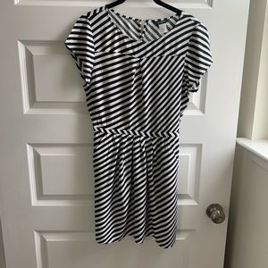 J. Crew striped dress Size 2